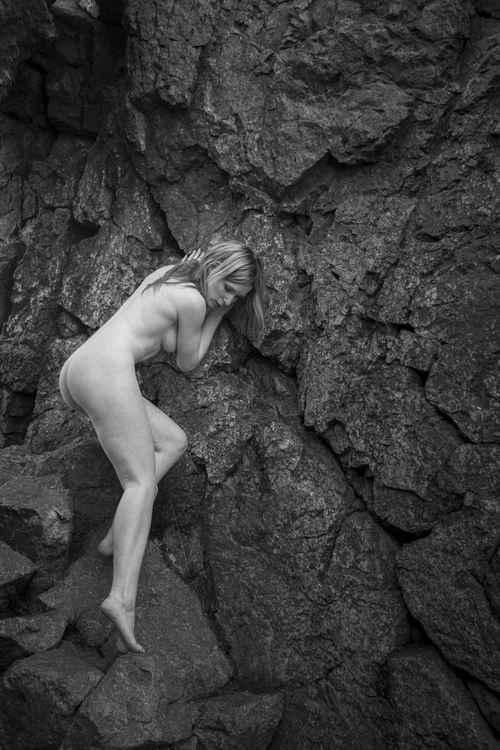 Nude, Shropshire Rocks - A1 -