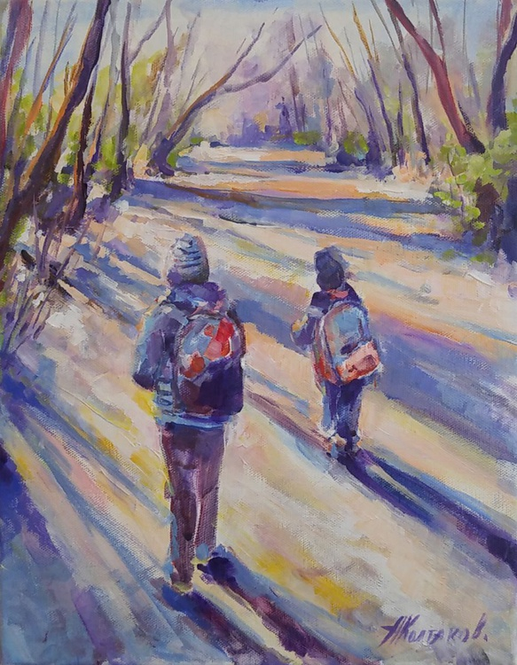 On the way home 11x14'' - Image 0