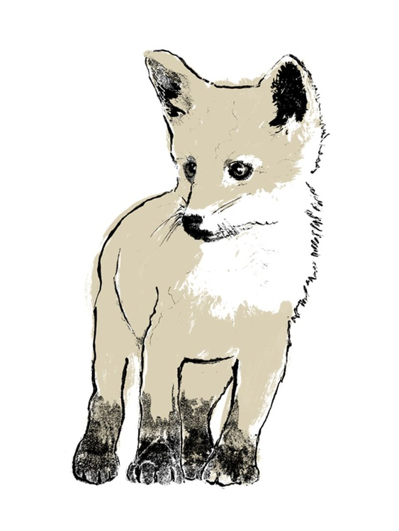Gold Fox Cub I - Image 0