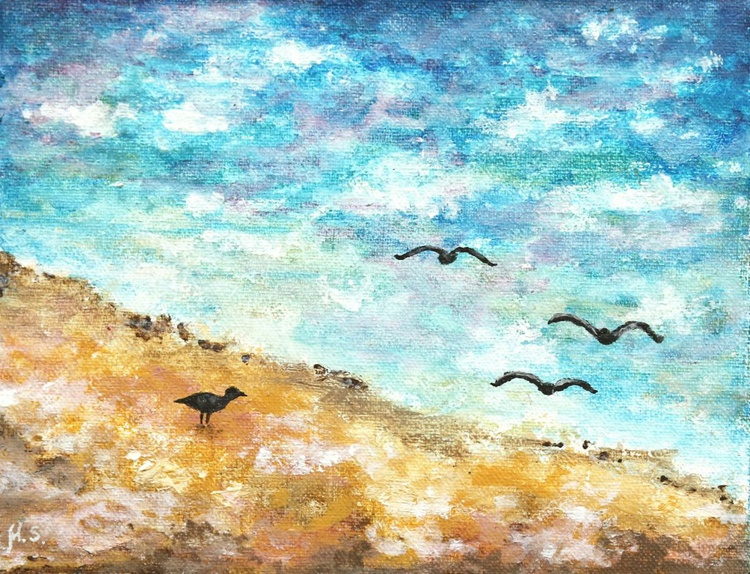 Birds by the sea - Image 0