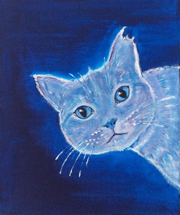 BLUE GARDEN 38 - CURIOUS AGAIN (BITTEN EAR CAT) - Image 0