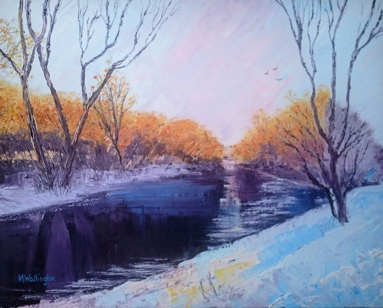 Winter River - Image 0