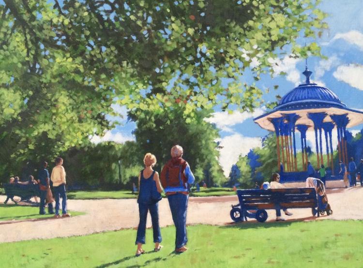 Summer Walk on Clapham Common - Image 0