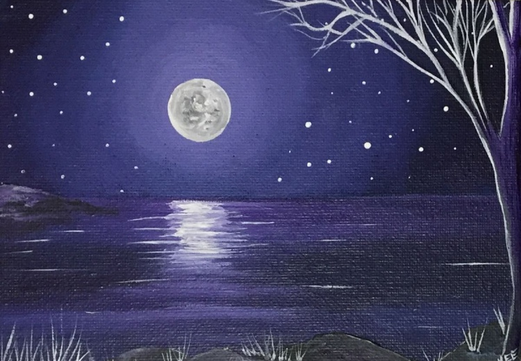 Moonlit water 2 - Image 0