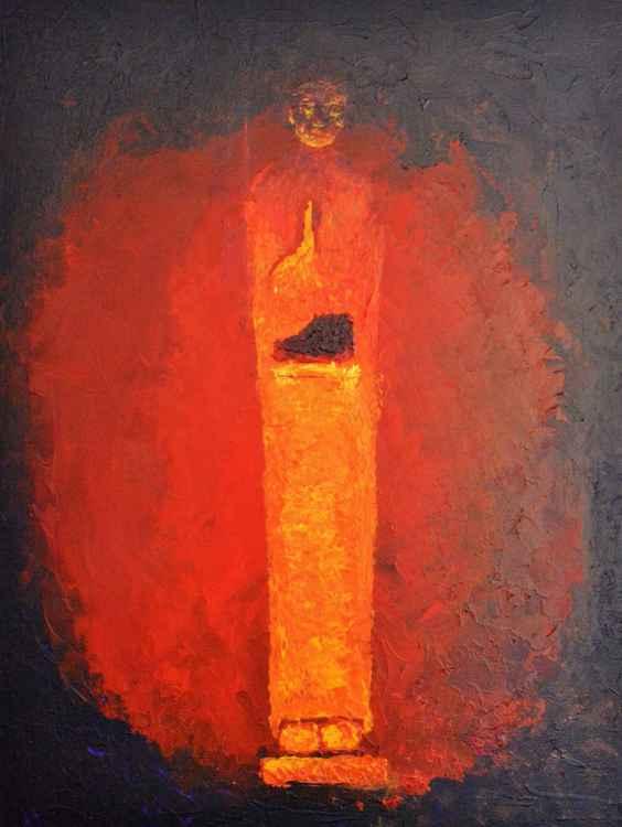 Candlelight Buddha -