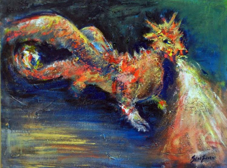 Dragon 24x18 - Image 0