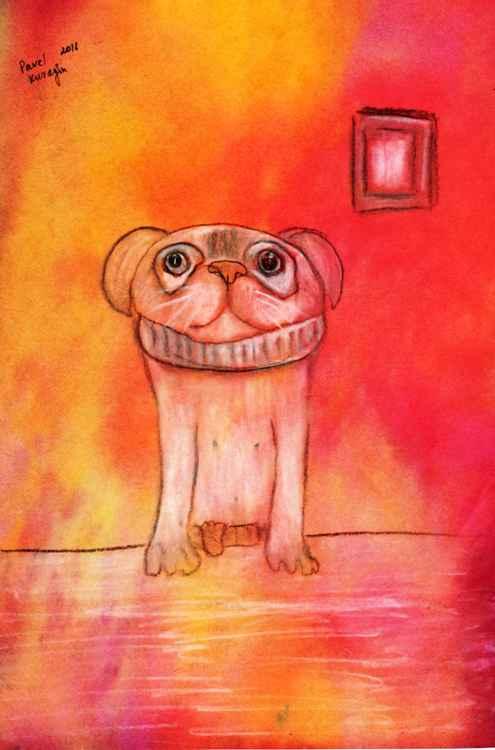 Waiting Puppy -