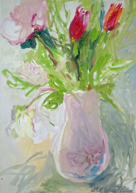 Flowers in the vase. - Image 0