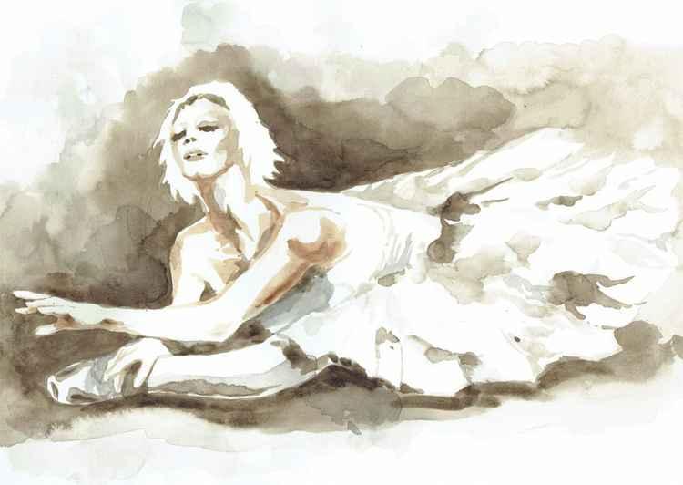 DYING SWAN BALLERINA -