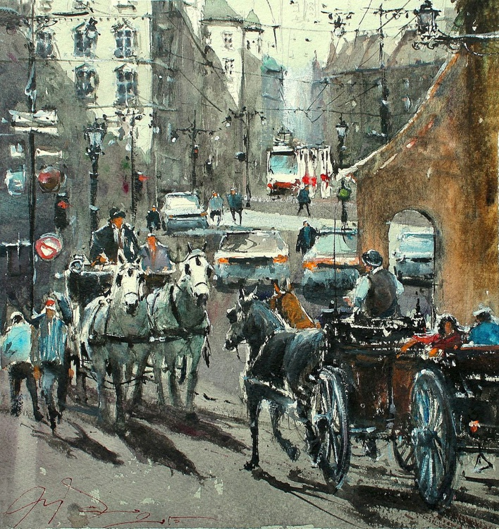 Drawn Carriages in Vienna - Image 0