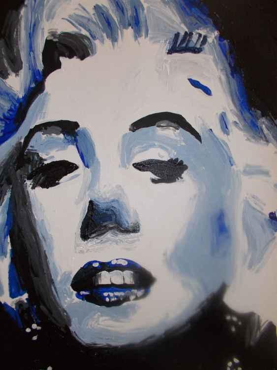 Blue Marilyn -