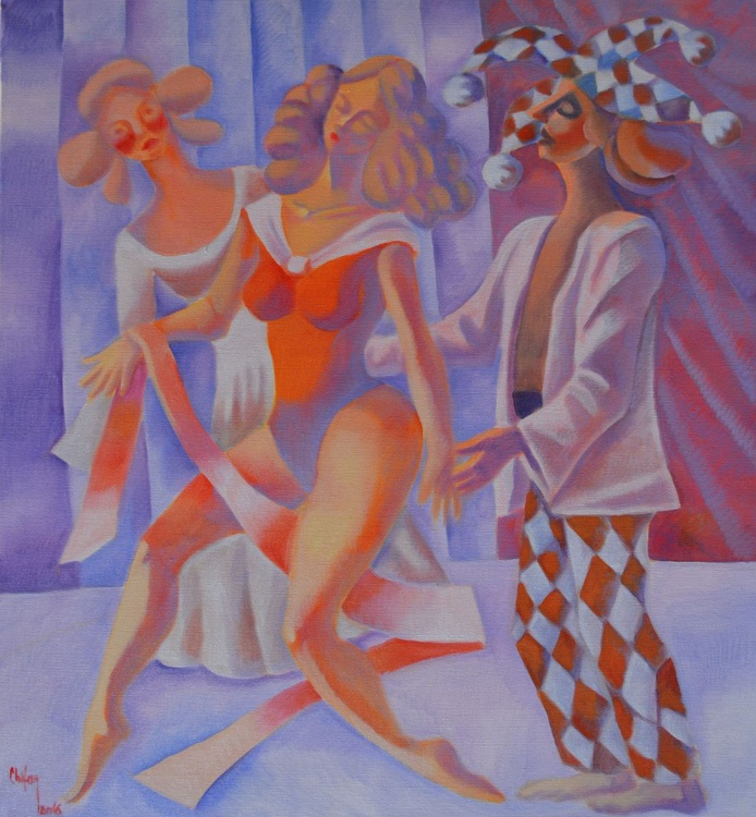 HARLEQUIN AND THE DANCER II - Image 0