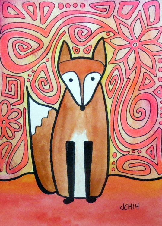 Flower Fox - Image 0