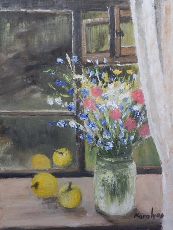 Flowers in the window - Image 0