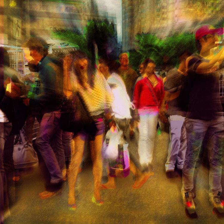 City Life - Monoprint - Image 0