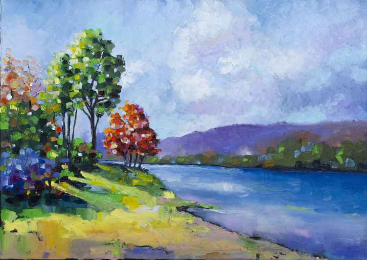 Autumn on the River -