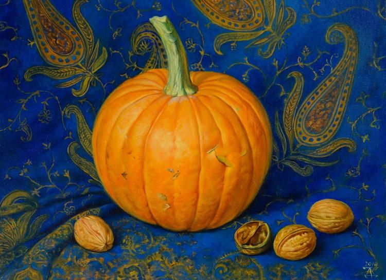 Still life with pumpkin - Image 0