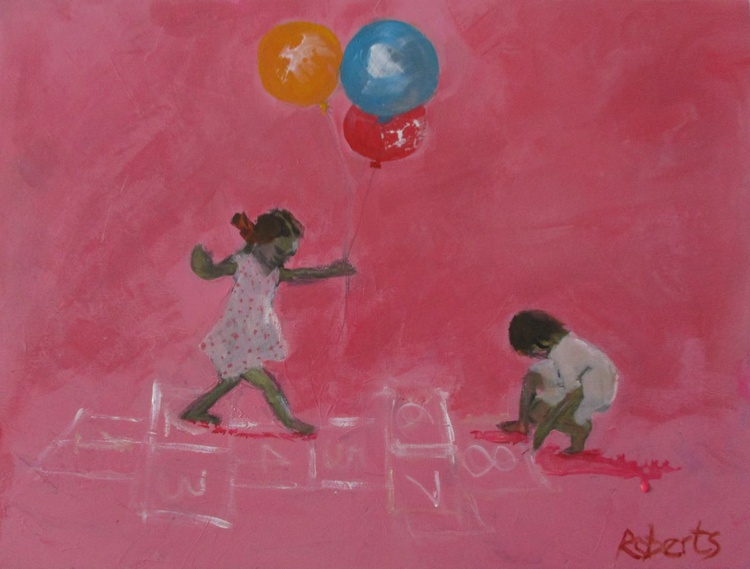 Living in a world of birthdays and hopscotch - Image 0