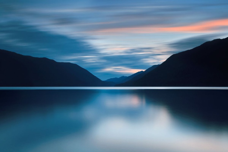 Lake Crescent Dusk - Image 0