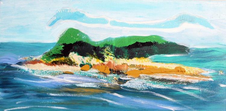 Abstract Island in the Sun II - Image 0