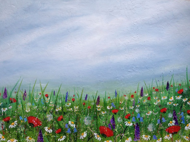 """"""" A Whimsical Meadow"""" - Image 0"""