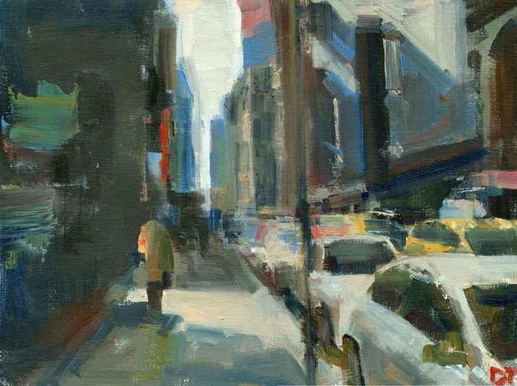 Shady Sidewalk -