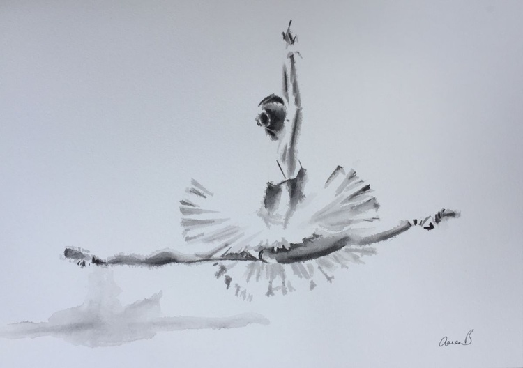 Ballerina IV - Jeté - Image 0