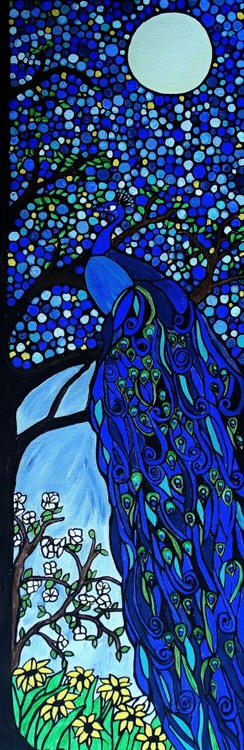 Moonlit Peacock - Image 0