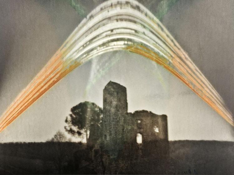 The Time Castle (pinhole solar photograph) - Image 0
