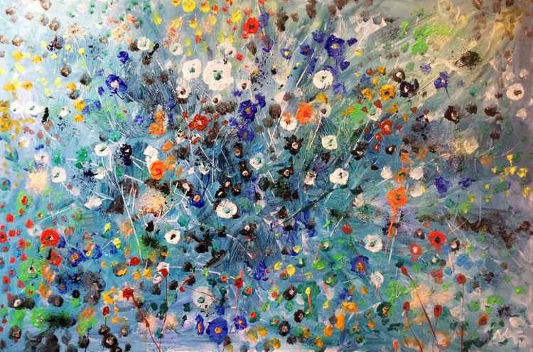 Ocean of flowers -