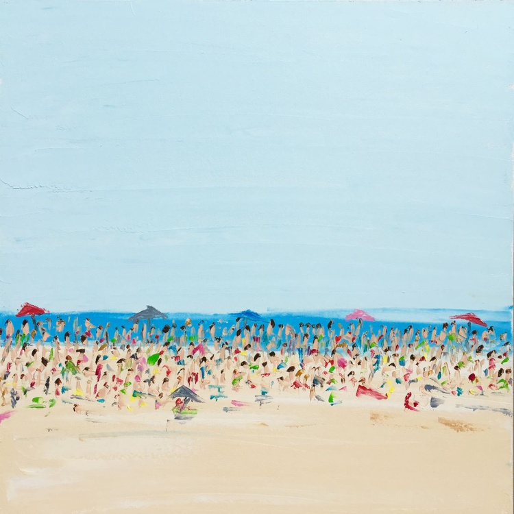 Beach Life - A Crowded Afternoon - Image 0