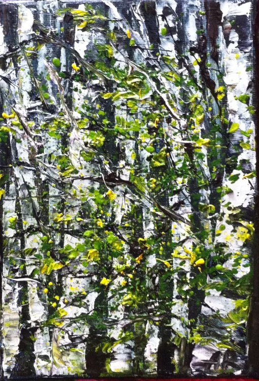 Birches in spring - Image 0