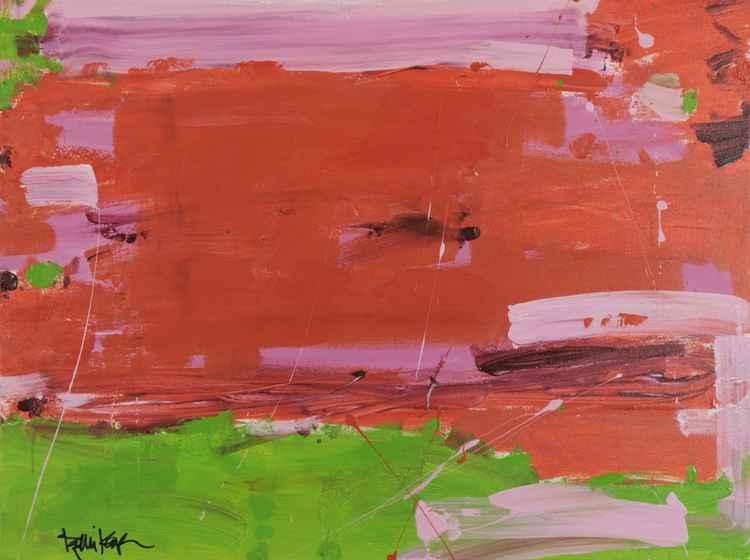 Lime Orange Pink -