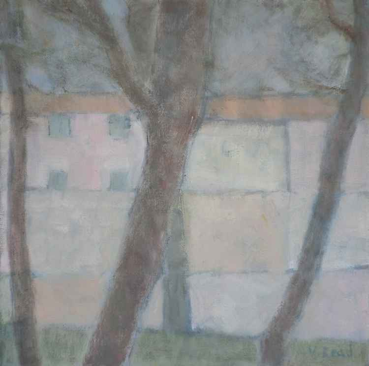 4 Trees in Lucca -