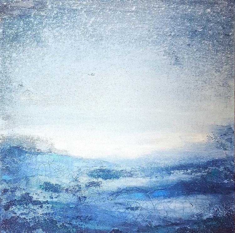 small blue landscape - Image 0