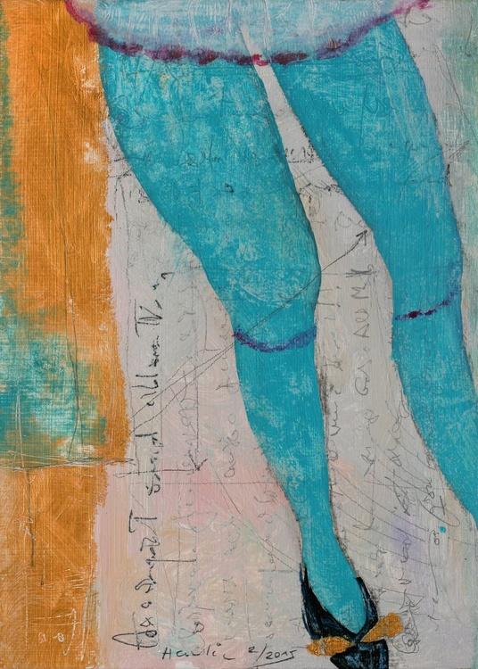 Blue Stockings - Image 0