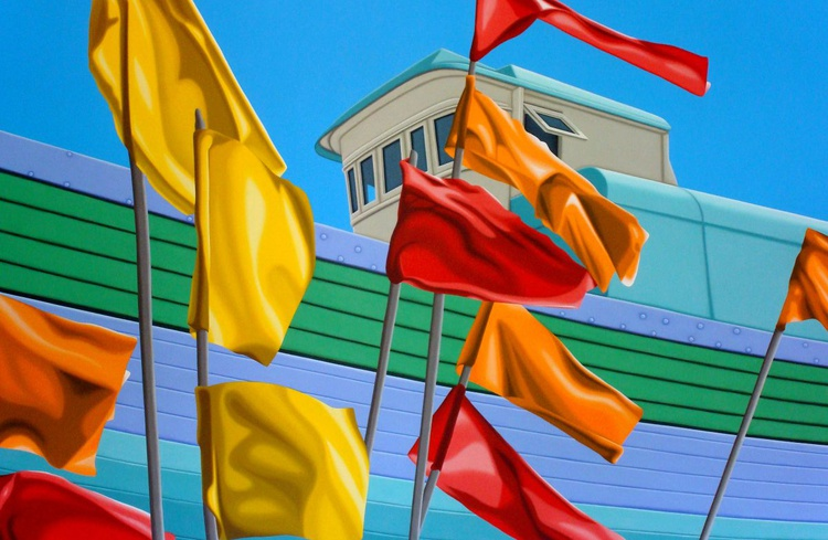 Boat 31 - with Flags - Image 0