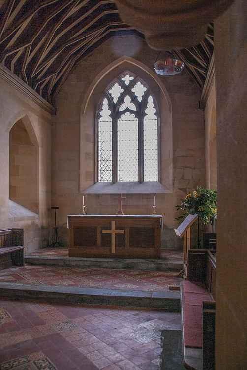 Altar, St. Giles Imber -