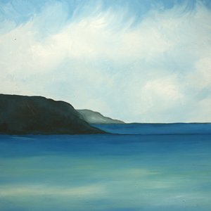 View from The Red Barn - Woolacombe by Charlie Davies