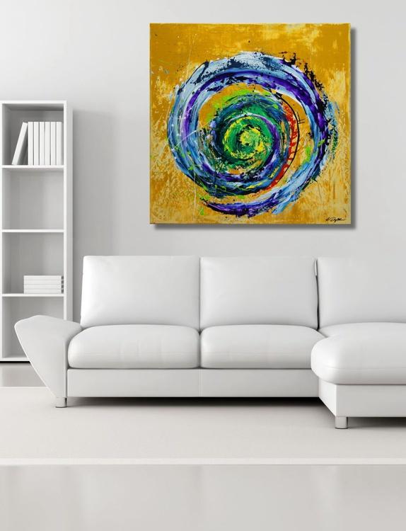 Oasis (80 x 80 cm) - Image 0