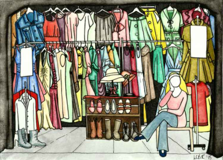 Clothes Stall -