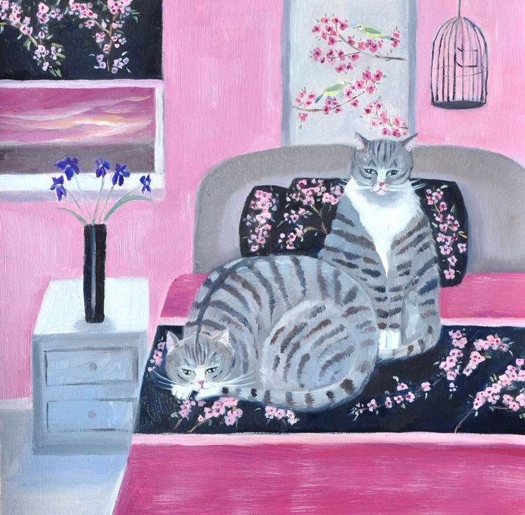 Cats' Bedtime - Image 0