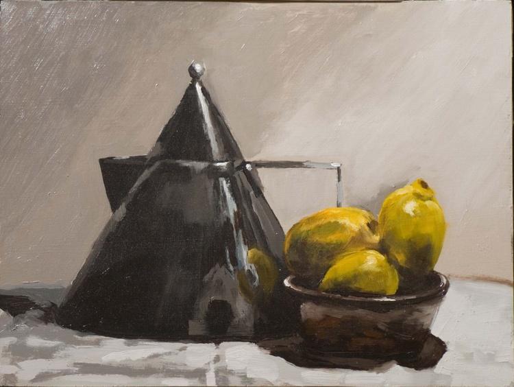 Kettle and Lemons - Image 0