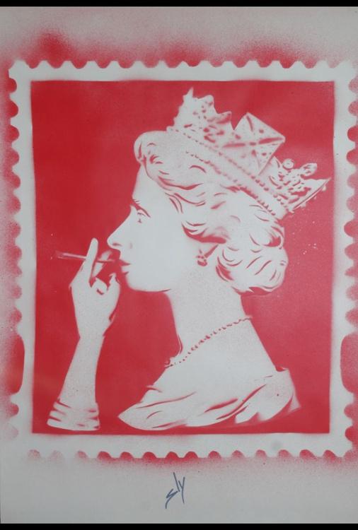 Spliff Queen (red) (On Paper) - Image 0