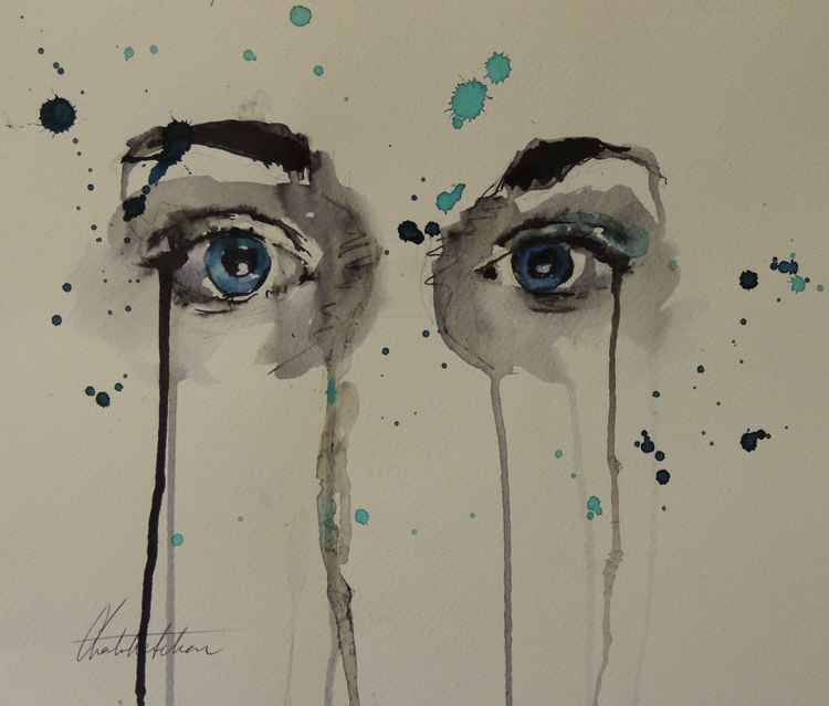 """Series of Eyes"" Kirsty"