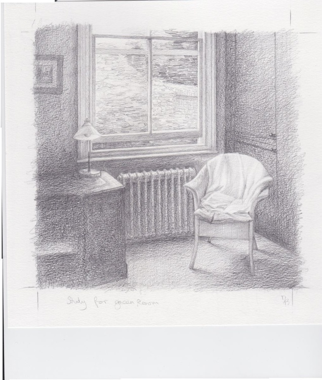 Study for The Green Room - Image 0