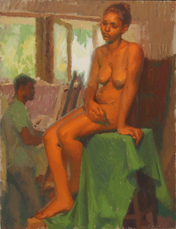 Model and Artist - Image 0