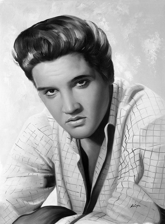 Elvis Presley Portrait - Image 0