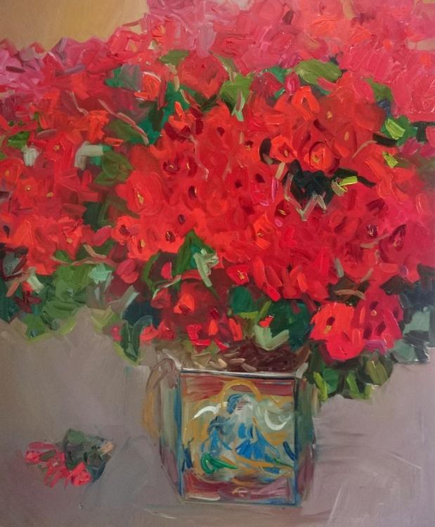 Fabulous begonia. 110x90cm - Image 0