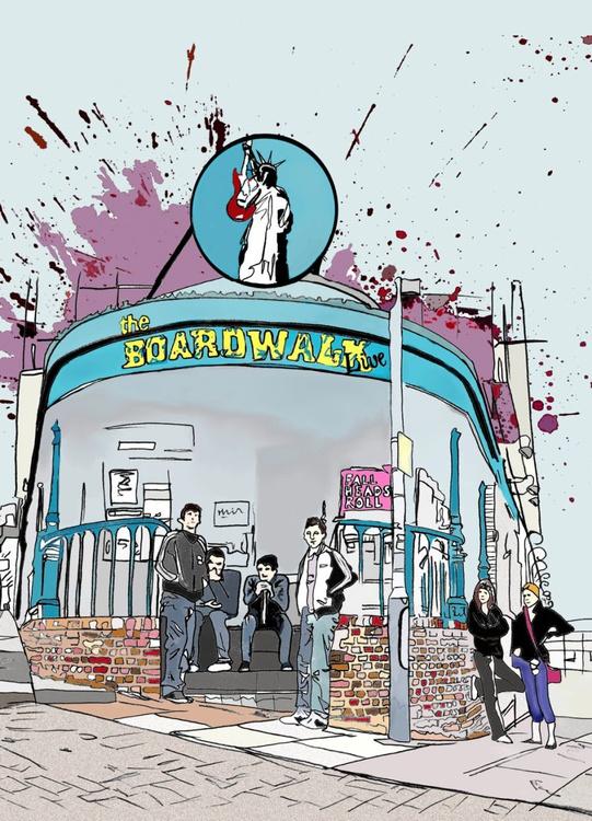 Arctic Monkeys @ The Boardwalk - Image 0